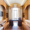 Chateau Inspired Custom Home - Den / Study Room