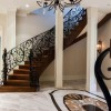 Chateau Inspired Custom Home - Basement Foyer
