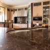 Chateau Inspired Custom Home - Kitchen detail