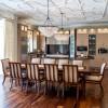 Chateau Inspired Custom Home - Kitchen - Custom Ceiling