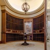 Chateau Inspired Custom Home - Wine Cellar