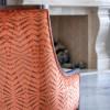 Chateau Inspired Custom Home - Custom Chair upholstery detail